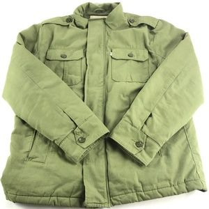 Levis Field Canvas Military Field Jacket